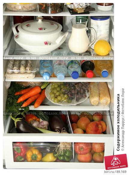 Содержимое холодильника, фото № 89169, снято 26 сентября 2007 г. (c) Александр Паррус / Фотобанк Лори