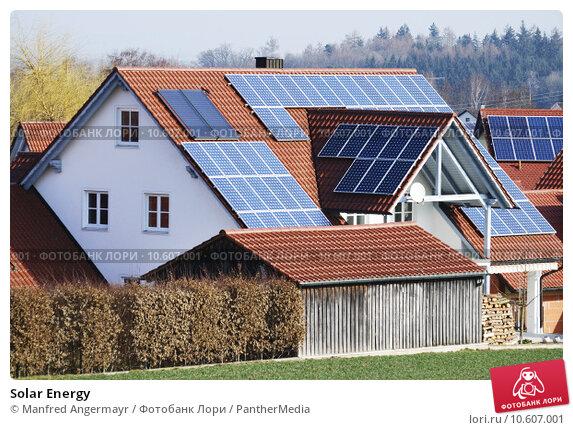 Solar Energy. Стоковое фото, фотограф Manfred Angermayr / PantherMedia / Фотобанк Лори