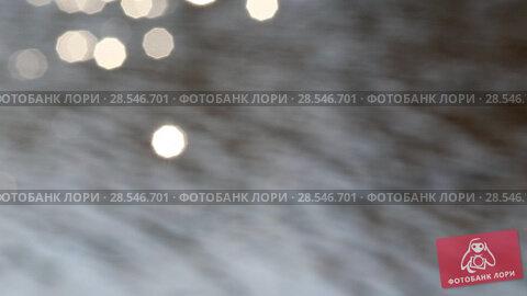 Купить «Солнечные зайчики на поверхности воды», видеоролик № 28546701, снято 21 ноября 2018 г. (c) Евгений Ткачёв / Фотобанк Лори