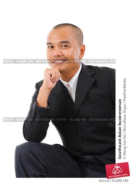 Southeast Asian businessman. Стоковое фото, фотограф Wong Sze Fei / PantherMedia / Фотобанк Лори