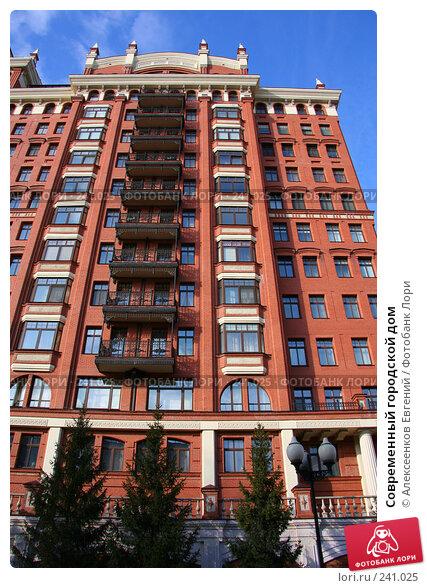 Купить «Современный городской дом», фото № 241025, снято 21 марта 2008 г. (c) Алексеенков Евгений / Фотобанк Лори