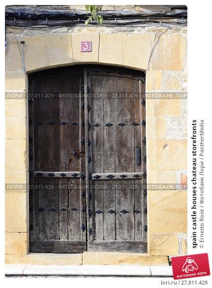 Купить «spain castle houses chateau storefronts», фото № 27811429, снято 19 октября 2018 г. (c) PantherMedia / Фотобанк Лори