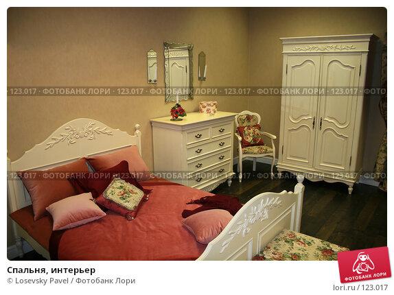 Купить «Спальня, интерьер», фото № 123017, снято 24 марта 2006 г. (c) Losevsky Pavel / Фотобанк Лори
