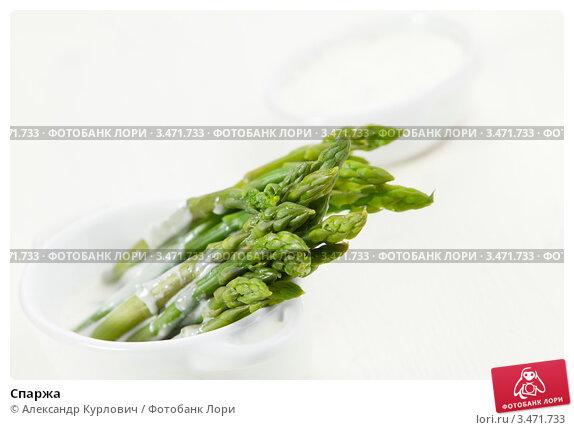 Купить «Спаржа», эксклюзивное фото № 3471733, снято 20 апреля 2012 г. (c) Александр Курлович / Фотобанк Лори