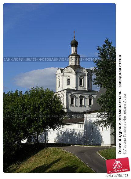 Спасо-Андроников монастырь - западная стена, фото № 50173, снято 5 июня 2007 г. (c) Ларина Татьяна / Фотобанк Лори