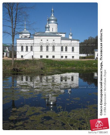 Спасо-Елизаровский монастырь, Псковская область, фото № 188641, снято 7 мая 2007 г. (c) ИВА Афонская / Фотобанк Лори
