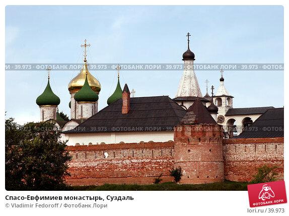 Спасо-Евфимиев монастырь, Суздаль, фото № 39973, снято 13 августа 2006 г. (c) Vladimir Fedoroff / Фотобанк Лори