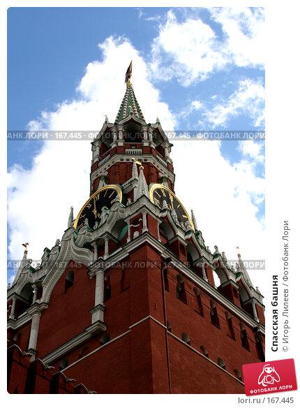 Спасская башня, фото № 167445, снято 1 июня 2006 г. (c) Игорь Лилеев / Фотобанк Лори