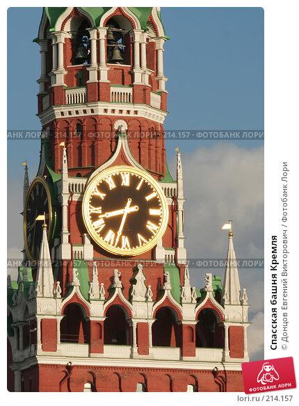 Спасская башня Кремля, фото № 214157, снято 18 июля 2006 г. (c) Донцов Евгений Викторович / Фотобанк Лори