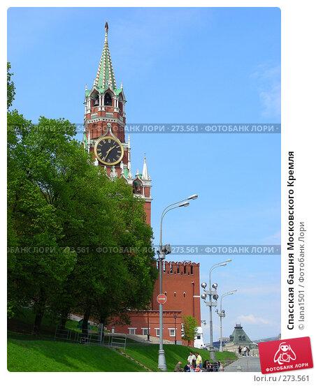 Спасская башня Московского Кремля, эксклюзивное фото № 273561, снято 2 мая 2008 г. (c) lana1501 / Фотобанк Лори