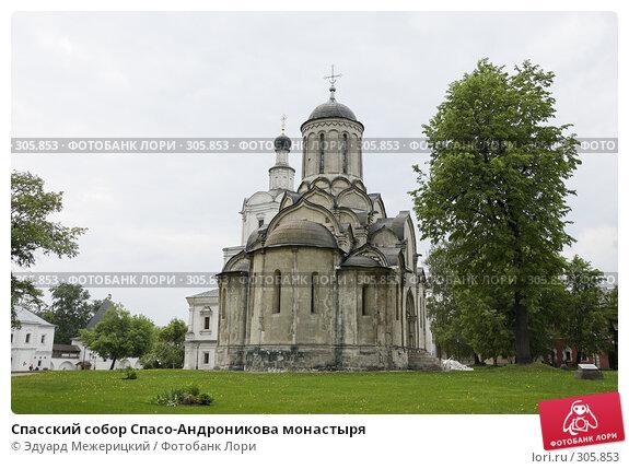 Спасский собор Спасо-Андроникова монастыря, фото № 305853, снято 18 мая 2008 г. (c) Эдуард Межерицкий / Фотобанк Лори