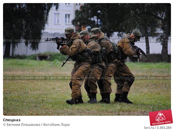Купить «Спецназ», фото № 3383289, снято 2 августа 2011 г. (c) Евгения Плешакова / Фотобанк Лори
