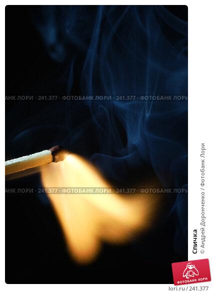Спичка, фото № 241377, снято 21 октября 2016 г. (c) Андрей Доронченко / Фотобанк Лори