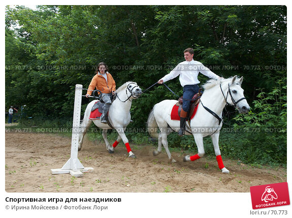 Спортивная игра для наездников, эксклюзивное фото № 70773, снято 10 июня 2007 г. (c) Ирина Мойсеева / Фотобанк Лори