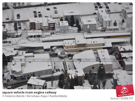 square vehicle train engine railway. Стоковое фото, фотограф Federico Belotti / PantherMedia / Фотобанк Лори