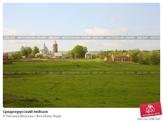 Среднерусский пейзаж, фото № 298541, снято 17 мая 2008 г. (c) Наталья Волкова / Фотобанк Лори