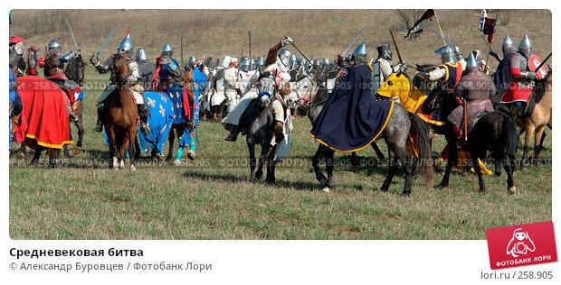 Купить «Средневековая битва», фото № 258905, снято 20 апреля 2008 г. (c) Александр Буровцев / Фотобанк Лори