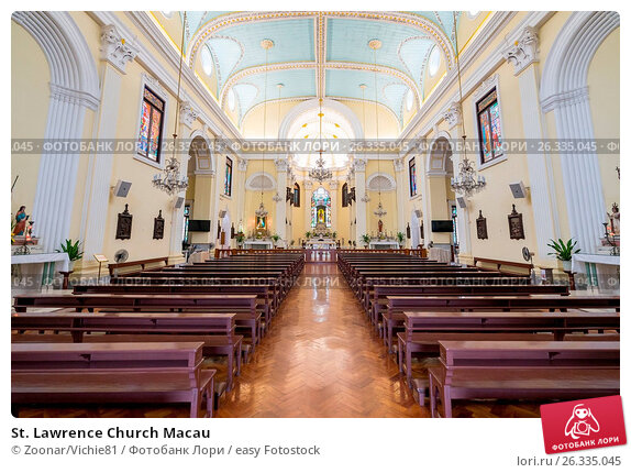 St. Lawrence Church Macau, фото № 26335045, снято 21 августа 2017 г. (c) easy Fotostock / Фотобанк Лори