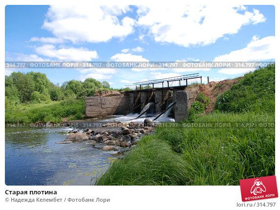 Старая плотина, фото № 314797, снято 11 июня 2007 г. (c) Надежда Келембет / Фотобанк Лори