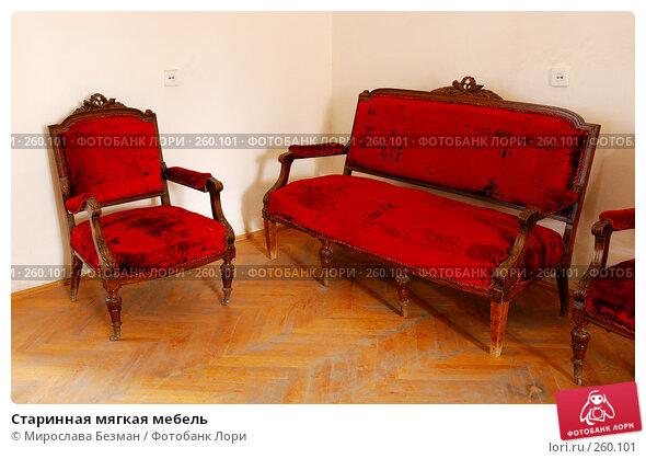 Старинная мягкая мебель, фото № 260101, снято 20 марта 2008 г. (c) Мирослава Безман / Фотобанк Лори