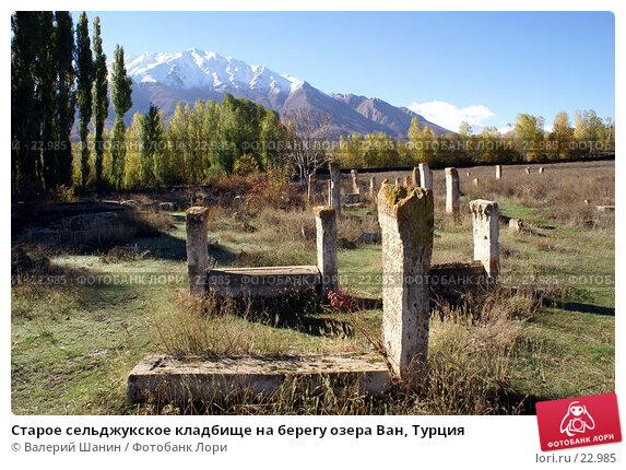 Старое сельджукское кладбище на берегу озера Ван, Турция, фото № 22985, снято 3 ноября 2006 г. (c) Валерий Шанин / Фотобанк Лори