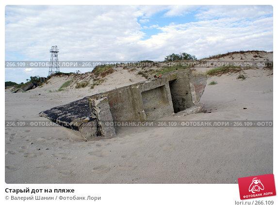 Старый дот на пляже, фото № 266109, снято 23 июля 2007 г. (c) Валерий Шанин / Фотобанк Лори