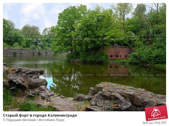 Старый форт в городе Калининграде, фото № 313157, снято 28 октября 2016 г. (c) Парушин Евгений / Фотобанк Лори