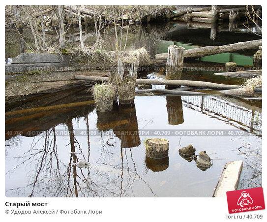 Старый мост, фото № 40709, снято 30 апреля 2007 г. (c) Удодов Алексей / Фотобанк Лори