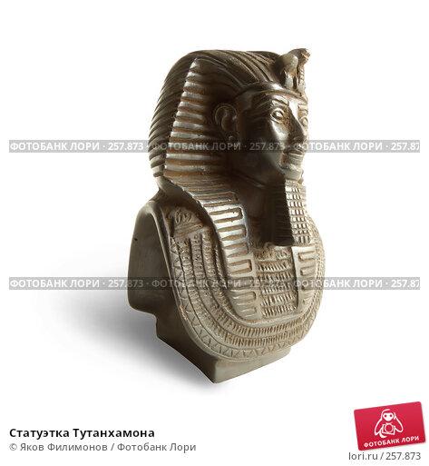 Статуэтка Тутанхамона, фото № 257873, снято 12 апреля 2008 г. (c) Яков Филимонов / Фотобанк Лори