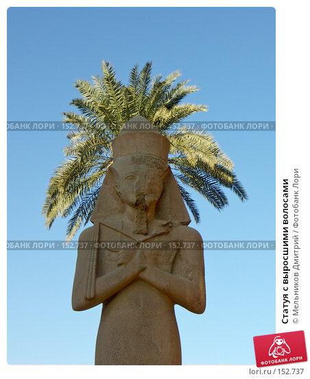 Купить «Статуя с выросшими волосами», фото № 152737, снято 27 ноября 2007 г. (c) Мельников Дмитрий / Фотобанк Лори