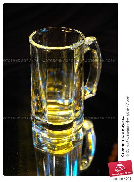 Купить «Стеклянная кружка», фото № 701, снято 21 февраля 2005 г. (c) Юлия Яковлева / Фотобанк Лори