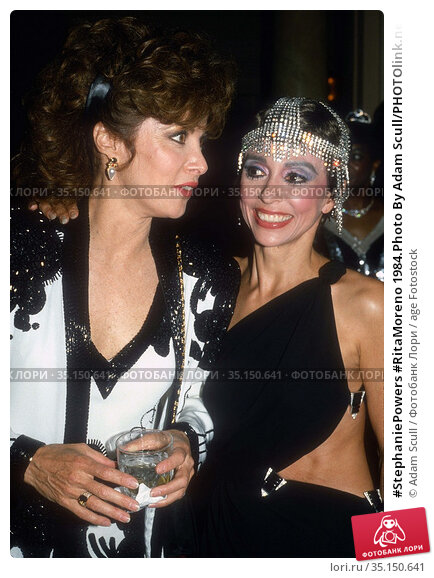 #StephaniePowers #RitaMoreno 1984.Photo By Adam Scull/PHOTOlink.net.. Редакционное фото, фотограф Adam Scull / age Fotostock / Фотобанк Лори