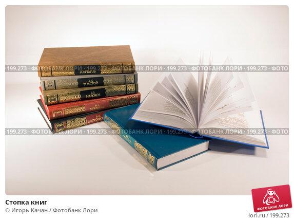 Стопка книг, фото № 199273, снято 6 февраля 2008 г. (c) Игорь Качан / Фотобанк Лори