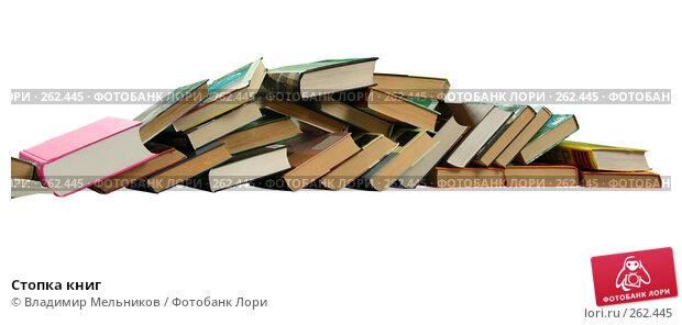 Стопка книг, фото № 262445, снято 24 октября 2007 г. (c) Владимир Мельников / Фотобанк Лори