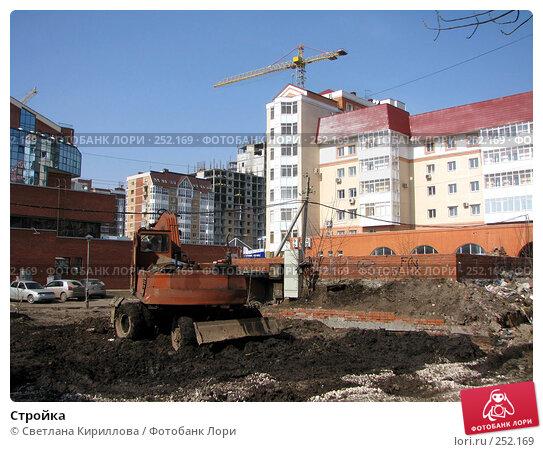 Стройка, фото № 252169, снято 1 апреля 2008 г. (c) Светлана Кириллова / Фотобанк Лори