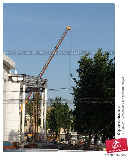 Купить «Строительство», фото № 262957, снято 25 апреля 2008 г. (c) Рамиль Усманов / Фотобанк Лори
