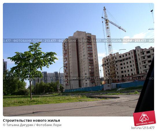 Строительство нового жилья, фото № 213477, снято 27 февраля 2017 г. (c) Татьяна Дигурян / Фотобанк Лори