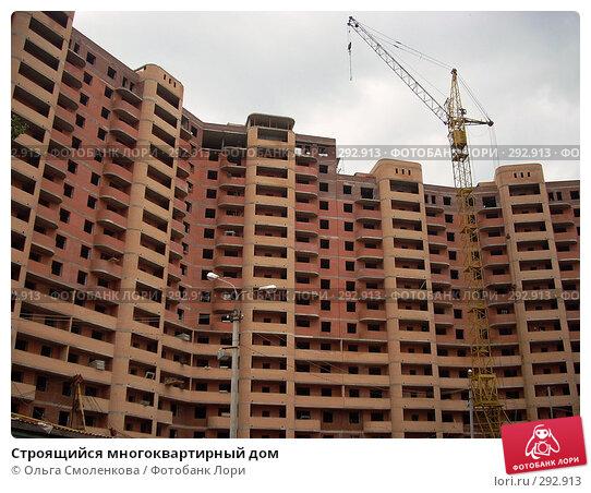 Строящийся многоквартирный дом, фото № 292913, снято 20 мая 2008 г. (c) Ольга Смоленкова / Фотобанк Лори