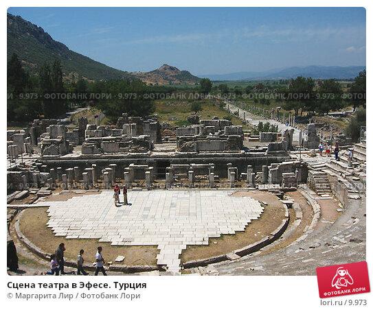 Купить «Сцена театра в Эфесе. Турция», фото № 9973, снято 9 июля 2006 г. (c) Маргарита Лир / Фотобанк Лори