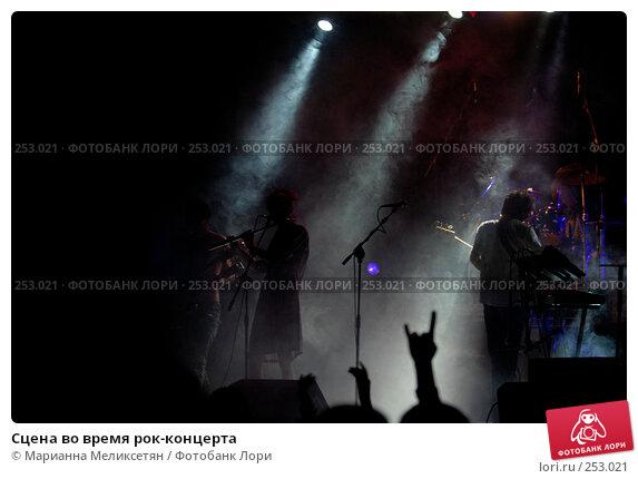 Сцена во время рок-концерта, фото № 253021, снято 8 июня 2007 г. (c) Марианна Меликсетян / Фотобанк Лори