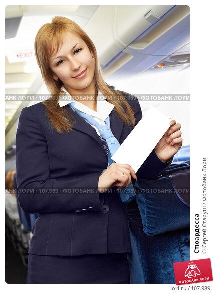 Купить «Стюардесса», фото № 107989, снято 8 февраля 2007 г. (c) Сергей Старуш / Фотобанк Лори