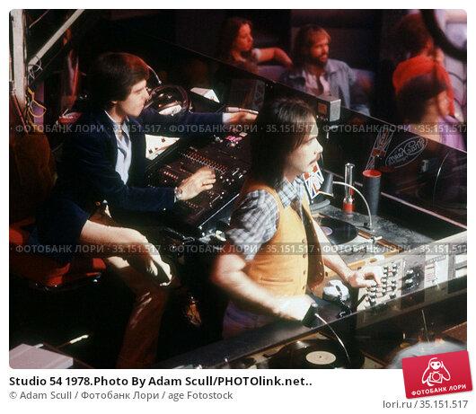 Studio 54 1978.Photo By Adam Scull/PHOTOlink.net.. Редакционное фото, фотограф Adam Scull / age Fotostock / Фотобанк Лори