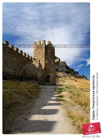 Судак, Генуэзская крепость., фото № 12745, снято 11 сентября 2006 г. (c) Valeriy Lukyanov / Фотобанк Лори