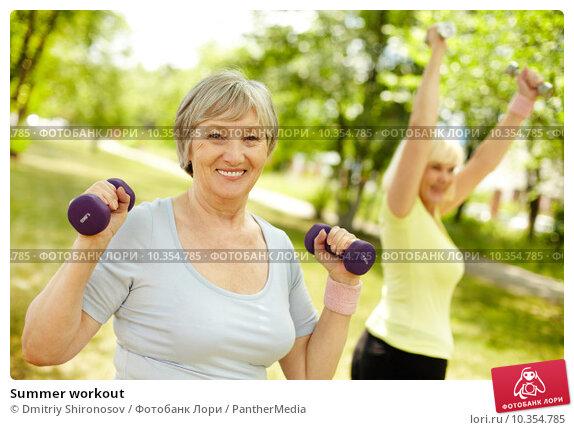 Summer workout. Стоковое фото, фотограф Dmitriy Shironosov / PantherMedia / Фотобанк Лори