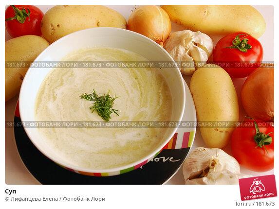 Суп, фото № 181673, снято 20 января 2008 г. (c) Лифанцева Елена / Фотобанк Лори
