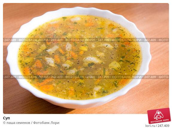 Суп, фото № 247409, снято 6 ноября 2007 г. (c) паша семенов / Фотобанк Лори