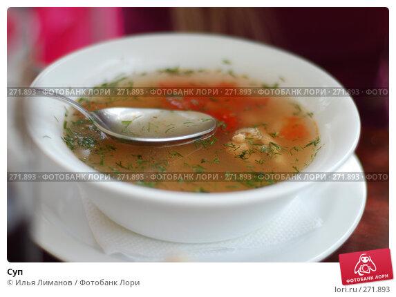Суп, фото № 271893, снято 14 августа 2007 г. (c) Илья Лиманов / Фотобанк Лори