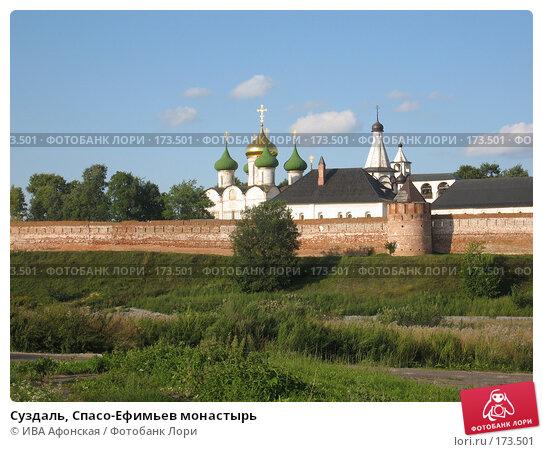 Суздаль, Спасо-Ефимьев монастырь, фото № 173501, снято 18 августа 2006 г. (c) ИВА Афонская / Фотобанк Лори