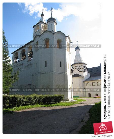 Суздаль, Спасо-Евфимиев монастырь, фото № 173497, снято 18 августа 2006 г. (c) ИВА Афонская / Фотобанк Лори