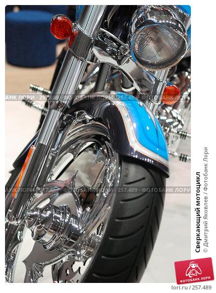 Сверкающий мотоцикл, фото № 257489, снято 10 апреля 2008 г. (c) Дмитрий Яковлев / Фотобанк Лори